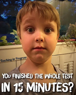 Testing brings a whole new bunch of problems into a classroom. Have some fun and laugh at these testing fails that really have happened!