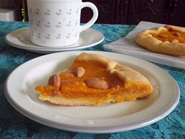 Pumpkin Galette Recipe @ treatntrick.blogspot.com