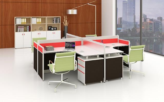 Các sản phẩm nội thất văn phòng nhập khẩu được thiết kế gam màu nhẹ nhàng để mắt nhìn dễ chịu hơn
