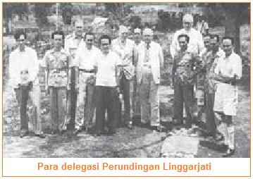 Para delegasi Perundingan Linggarjati.