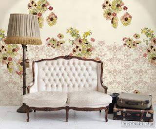 Inscriptions Of Roses In The Interior Design 8