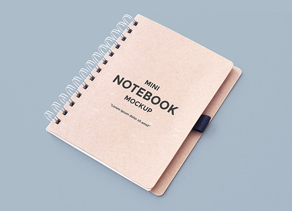 Download Template Mockup Terbaru - Notebook Mockup