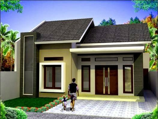 Desain Rumah Minimalis  Sederhana Type 36 Terbaru Gambar