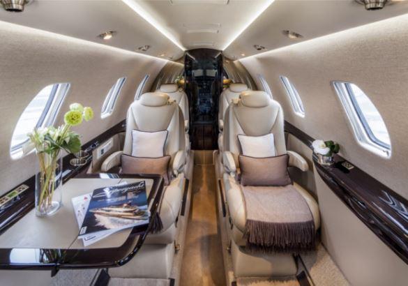 Cessna Citation XLS+ interior