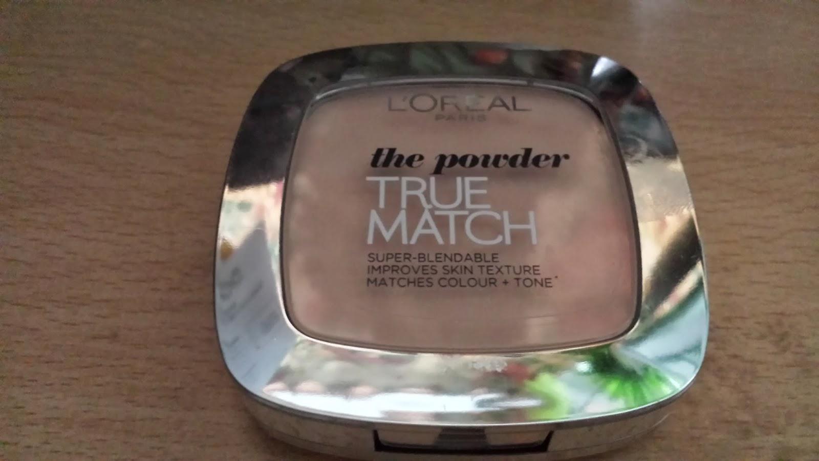L'Oreal true match powder review