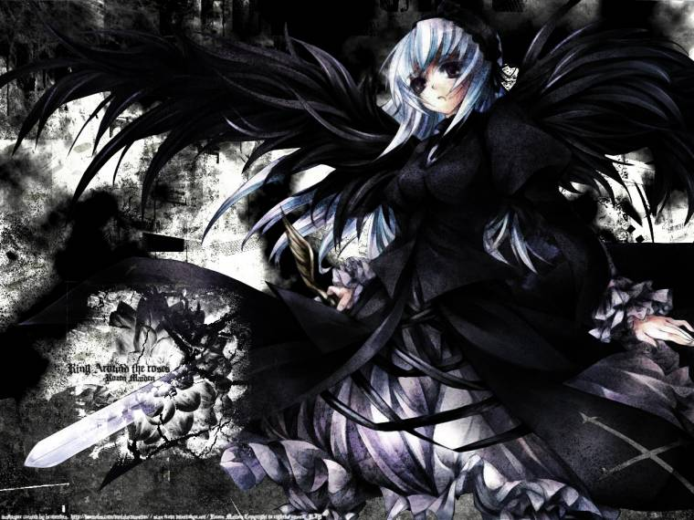 Download Wallpapers Anime Angel Dark Download Koleksi Wallpaper