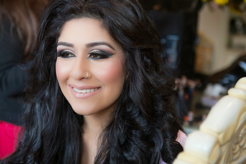 Indian Wedding South Asian Getting Ready Bridal Makeup