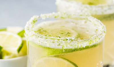 LIME MARGARITAS #bubly #drink