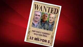 ABD Murat Karayılan'ın Kellesi için 5 Milyon Dolar Önerdi