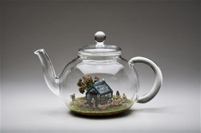 kendal murray flights of fancy teapot glasshouse