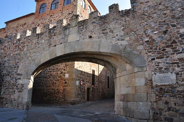 Arco de la Estrella Cáceres