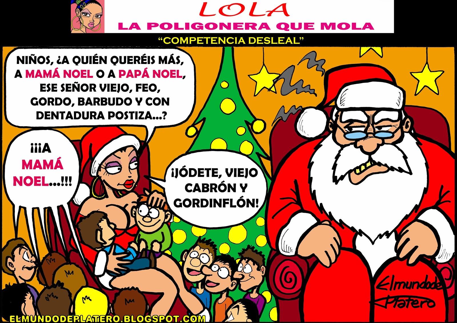Feliz Personas Exitosas En Caricaturas: Fotos Objetos Frikis: Lola La Poligonera Que Mola_012