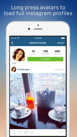 Cleaner for Instagram