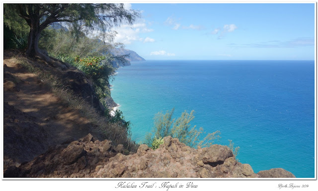 Kalalau Trail: Nāpali in View