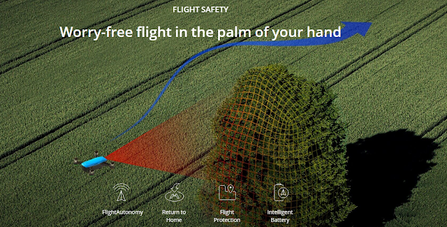 Flight Safety pada Drone DJI Spark Digitografi