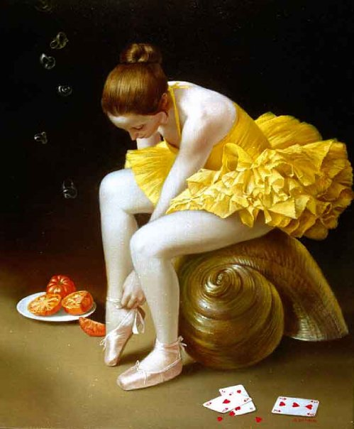 Bruno Di Maio 1944 | Italian Surrealist Figurative painter