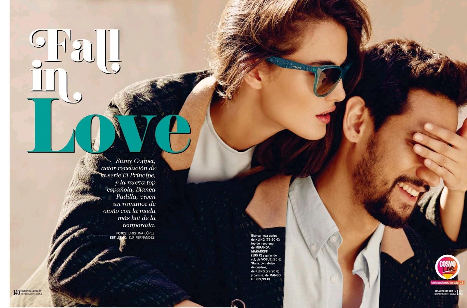 tbt: Blanca Padilla for Cosmopolitan Spain Sept \'14