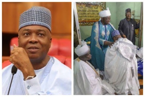 Bukola Saraki Conferred With Chieftaincy Title In Ilorin After Supreme Court Victory