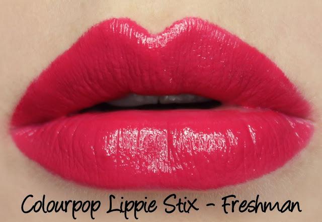 Colourpop In Bloom Set - Freshman Lippie Stix Swatches & Review