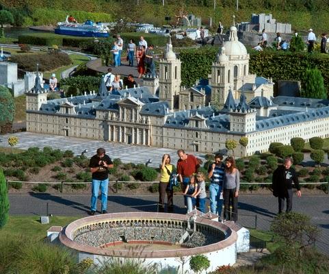 Parque Mini-Europa em Bruxelas na Bélgica - Coliseo de Roma