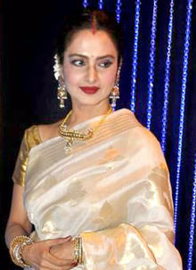 Rekha Profile Family Biography Age Biodata Husband Photos