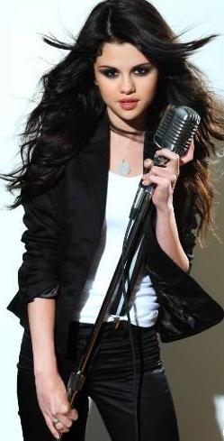 Foto de Selena Gómez en sesión fotográfica