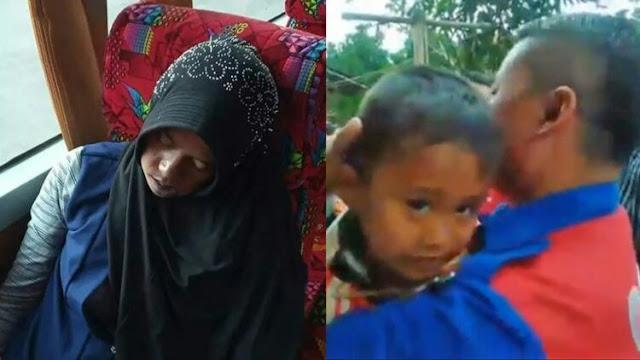 Ibunya Meninggal di Bus Primajasa, Anaknya Menangis Digendong Sopir: Mamah Kenapa Tidur Terus