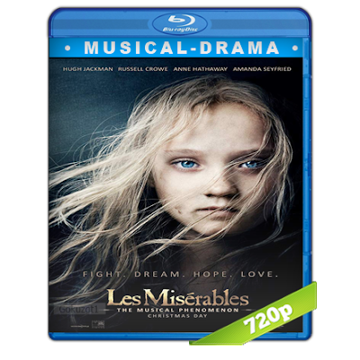 Los Miserables (2012) BRRip 720p Audio Trial Latino-Castellano-Ingles 5.1