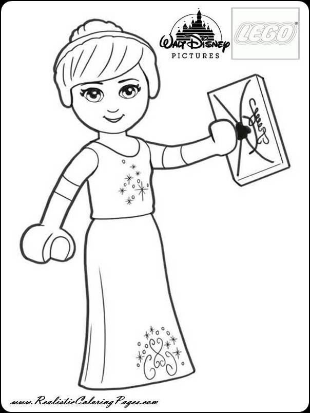 Disney Princess Cinderella Coloring