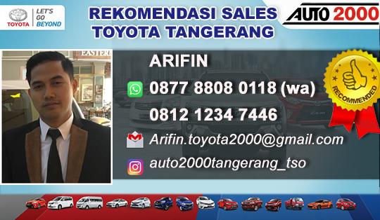 Rekomendasi Sales Toyota Balaraja Tangerang