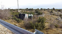 Prevrnuti autobus Gornji Humac - Bol slike otok Brač Online