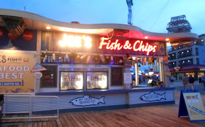 Joe's Fish & Chips in Wildwood New Jersey