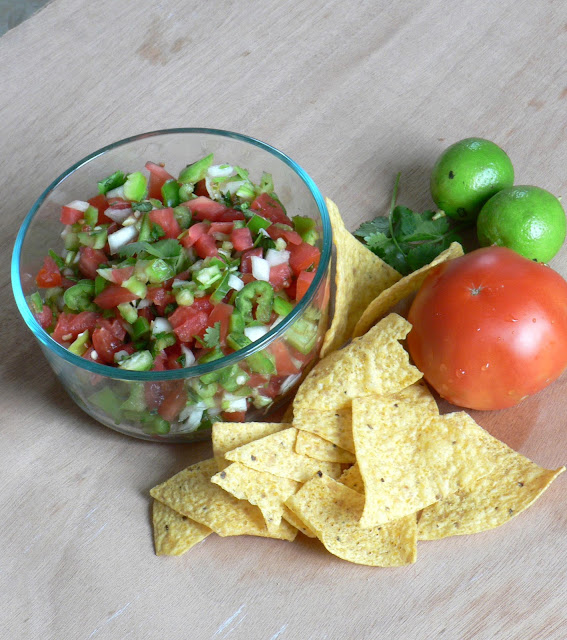 Chunky Fresh Tomato Salsa recipe
