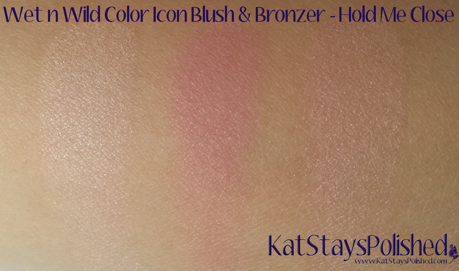Wet n Wild ColorIcon Bronzer & Blush - Summer 2014 - Hold Me Close | Kat Stays Polished