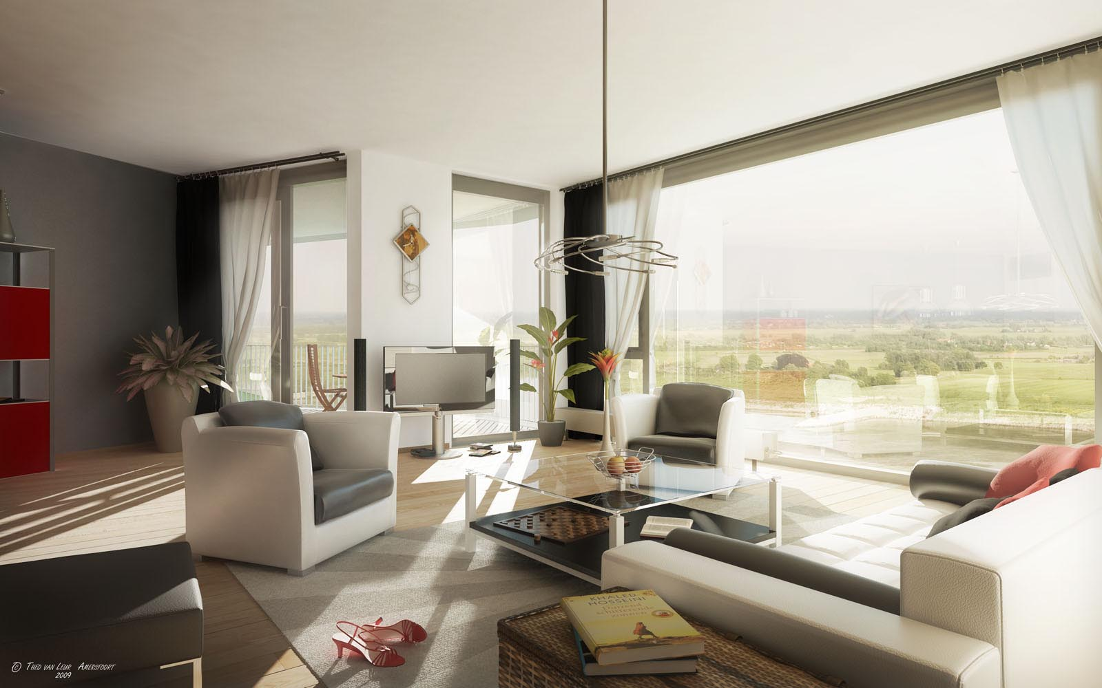 huis interieur Appartement Interieur ideen voor 2012