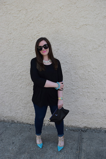 Sequins and Skulls: Studded