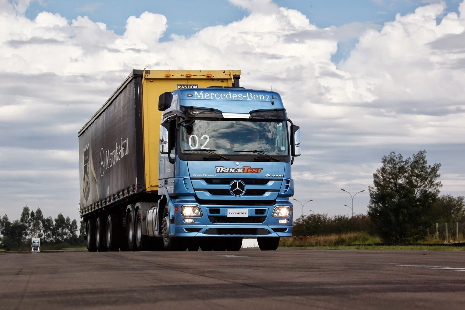Caminhões ECONFORT da Mercedes-Benz ganham destaque na Festa do ... 8273e34cf5900