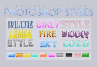 onde baixar styles para photoshop gratis