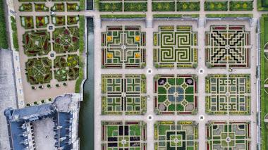 Villandry. Jardines renacentistas franceses, con acento español y cultivo orgánico