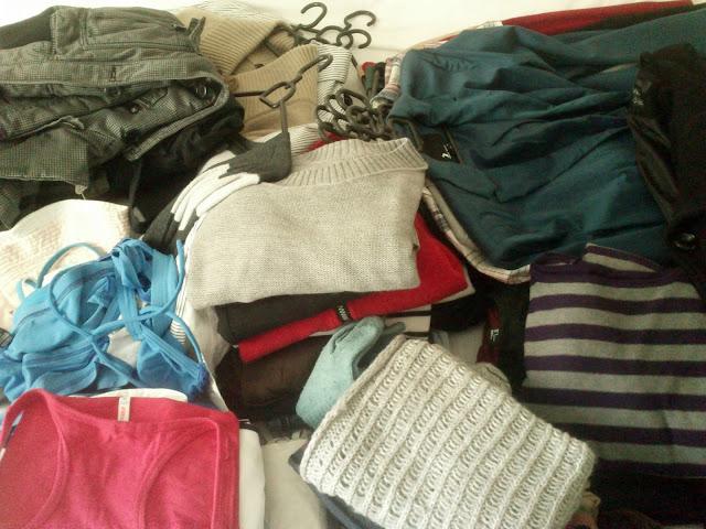 KonMari metoda - prikupljanje odjeće