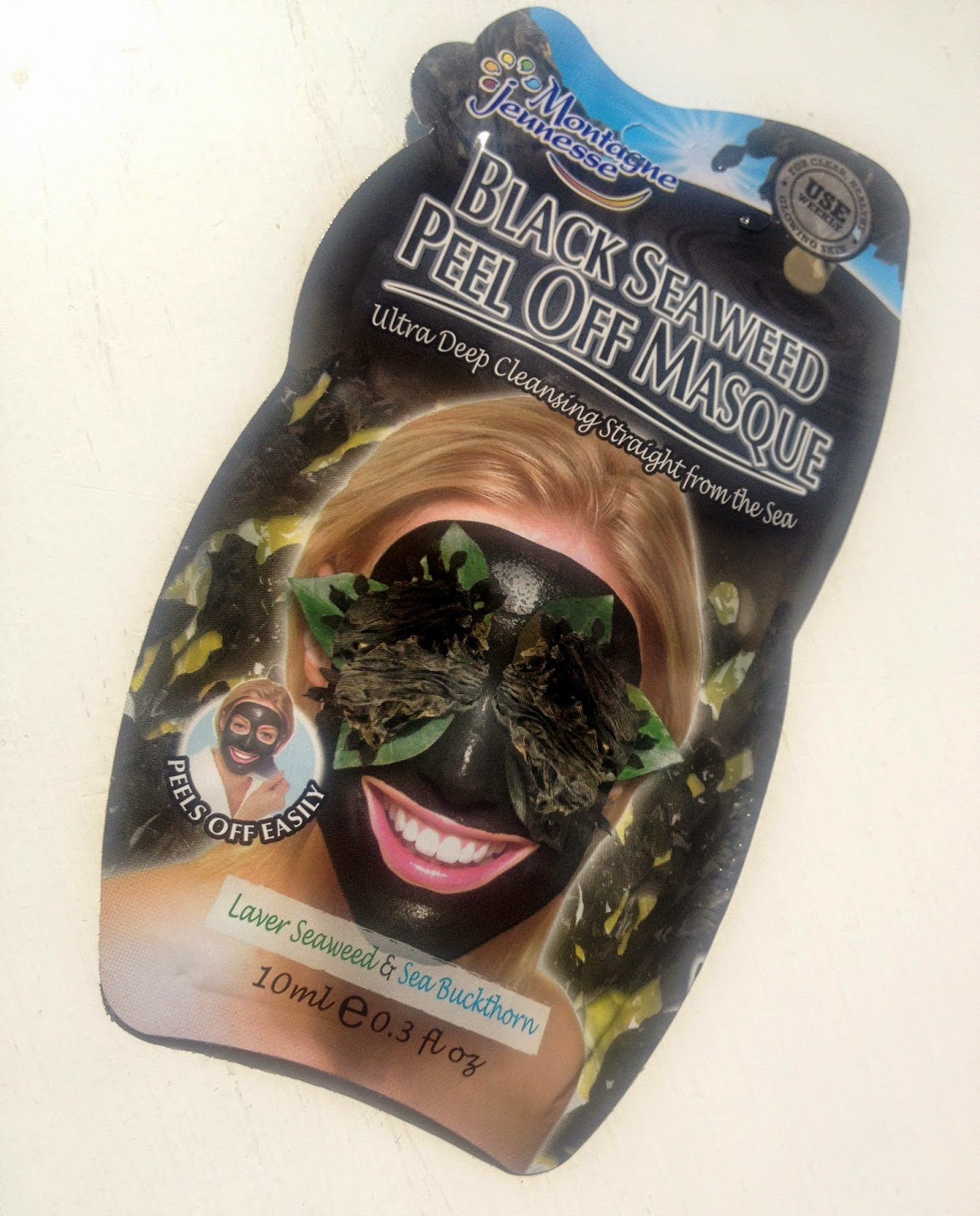 Montagne Jeunesse Black Seaweed Peel Off Face Mask