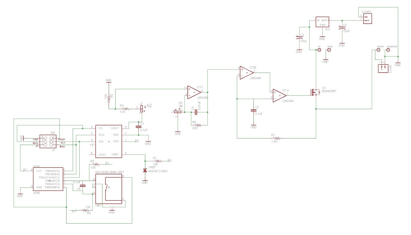Freeside Atlanta Constant Current Dummy Load Continued Circuit Schema I Added The Logo In Copper On Top Of Board It Will Be Interesting To See How That Looks Real Life