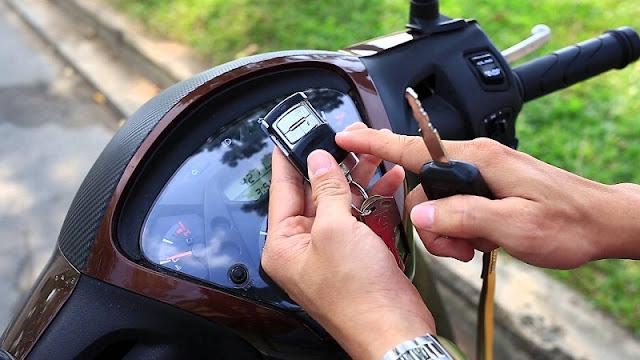 Remote chống trộm xe SH