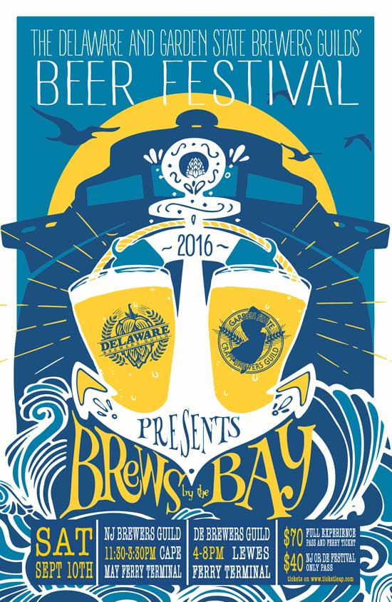 Brews By The Bay, 2016, New Jersey, Delaware, Beer, Brewery, Cruise