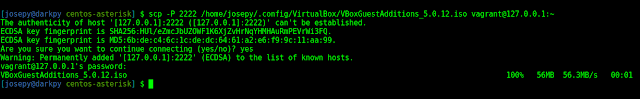 copy virtualbox guest additions to guest