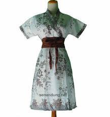 Dress Baju Batik Untuk Pesta Modern