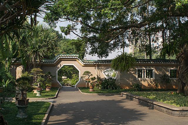 Le parc Zhongshan
