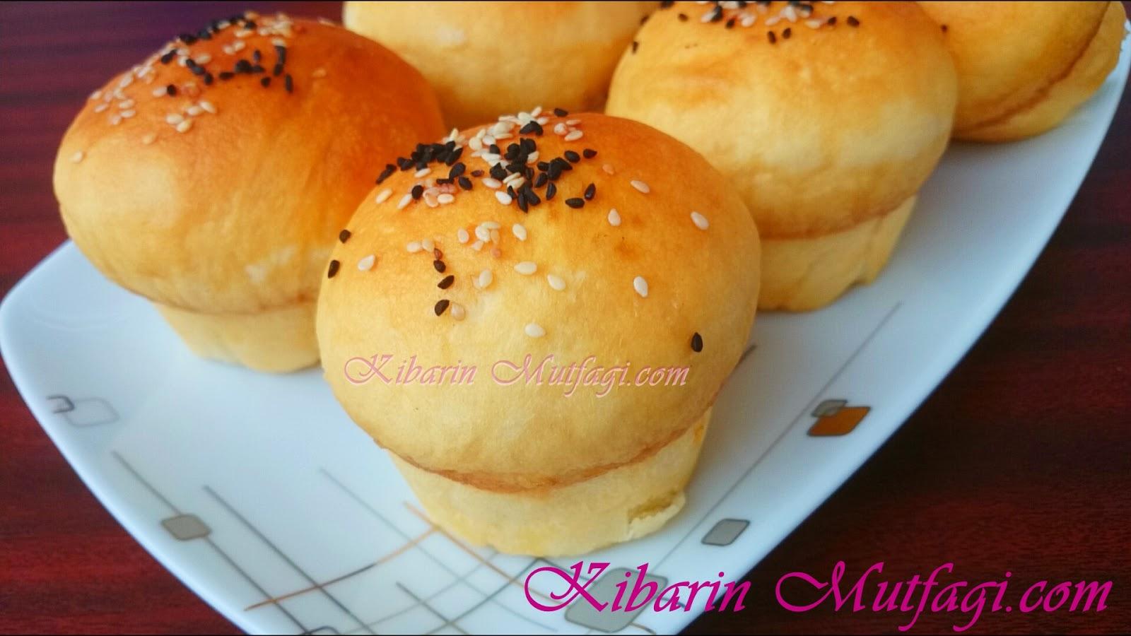 Muffin Kalıbında Puf Poğaça