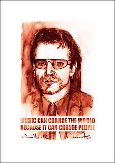 Poster Bono Vox