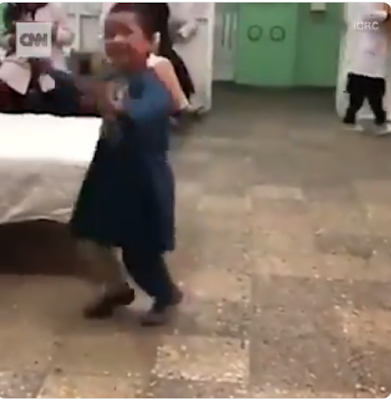 Little Boy Dances With A Prosthetic Leg After Landmine Took His leg At 8 Months Old